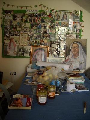 パレスチナのゲストハウス
