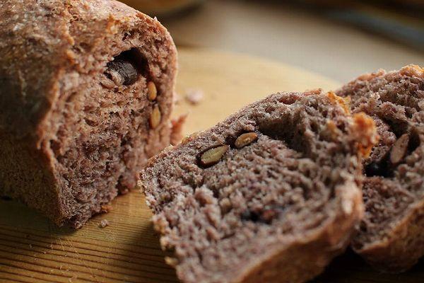 黒豆ときな粉パン