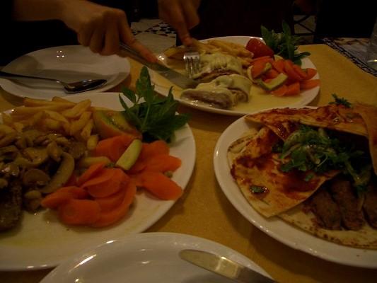 ダマスカスのレストラン