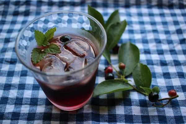 スパイスブルーベリー酒