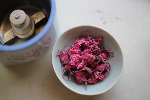 乾燥桜の塩漬け